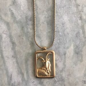 '83 / Capricorn Zodiac Necklace